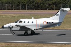 Emb-121AN Xingu '77' 28 Flottille (Mark McEwan) Tags: embraer emb121 xingu 77 aéronautiquenavale aeronavale frenchnavy 28flottille aviation aircraft airplane military riat riat2018 raffairford fairford royalinternationalairtattoo emb121an