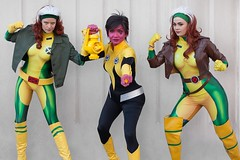 Two Against One (l plater) Tags: thaaisinestro dccomics rogue marvelcomics 2018supanovaexpo sydneyolympicpark cosplay