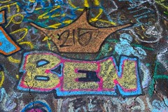 """""""Ben"""" from 215 (SchuminWeb) Tags: schuminweb ben schumin web may 2018 centralia columbia county pennsylvania pa graffiti highway state route 61 route61 graffitihighway abandoned road roads highways high way ways urban exploration urbex roadway roadways ghost town ghosttown alignment alignments coal mine fire towns spray paint spraypaint paints spraypaints tag tags tagged tagging crown 215 philadelphia area infrastructure infrastructural infra structure structural"""