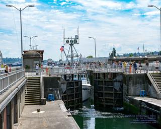 Harbor Gem About to Go Thru the Hiram M. Chittenden Locks