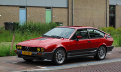 1984 Alfa Romeo GTV 6 2.5 (rvandermaar) Tags: 1984 alfa romeo gtv 6 25 alfaromeogtv alfagtv alfaromeo sidecode4 ky37zk