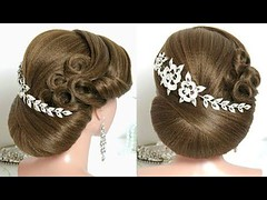 Bridal hairstyles for long hair tutorial. 2 wedding updos – YouTube (nididchy) Tags: hairstyles for medium length hair short long school millennial viking beard l mens fashion style jewelry i tattoos sunglasses glasses sensod | diy home decor mehndi designs pallets health hairstylecom try haircuts