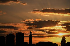 Chiswick sunset (Ian@NZFlickr) Tags: sunset london