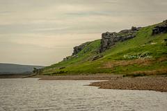 _DSC.0066  - Cludder Slack rocks at Widdop Reservoir (SWJuk) Tags: swjuk uk unitedkingdom gb britain england yorkshire westyorkshire water reservoir widdop widdopreservoir cludderslackrocks rocks climbing landscape countryside bleak moors moorland hills hillside clouds cloudy nikon d7100 nikond7100 nikkor70200mm rawnef lightroomclassiccc