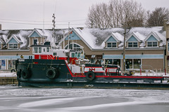 Tug Boat (kgfamilyphotos) Tags: pier formerfishfactory downtownmainstreet boats portdover harbour march12006 kevingiles flickr tugboat ontariocanada southernontario