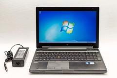 HP EliteBook 8570w Core i7-3720QM 2.6GH 16GB 500GB W7 1080p K2000 (laplace777) Tags: 1080p 3720qm 500gb 8570w elitebook k2000