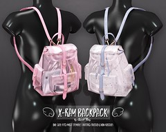X-Ray Backpack by Sweet Thing (Sweet Thing.) Tags: sl secondlife sweetthing senpai clear plastic backpack fashion kawaii