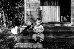 Country boy (gubanov77) Tags: blackandwhite bw child children life monochrome outdoor people russia travel travelphotography