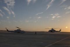 180612-M-BH832-150 (U.S. Department of Defense Current Photos) Tags: mfritx418 mfr marforres 4thmaw 4thmarineaircraftwing lancecplsamanthaschwoch marines reservemarines itx itx418 twentyninepalms california marineairgroundtaskforce23 marineairgroundtaskforce magtf23 magtf reservists training hmla775 marinelightattackhelicoptersquadron775 marineaircraftgroup41 mag41 uh1yvenom ah1wsupercobraattackhelicopter unitedstates us