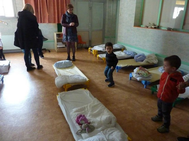 Photo 6 - Les enfants du multi-accueil découvrent l'école
