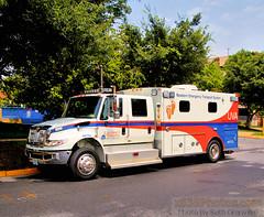 University Of Virginia Health System NETS-1 (Seth Granville) Tags: university of virginia uva health system nets 1 newborn emergency transport 2013 international durastar braun super chief