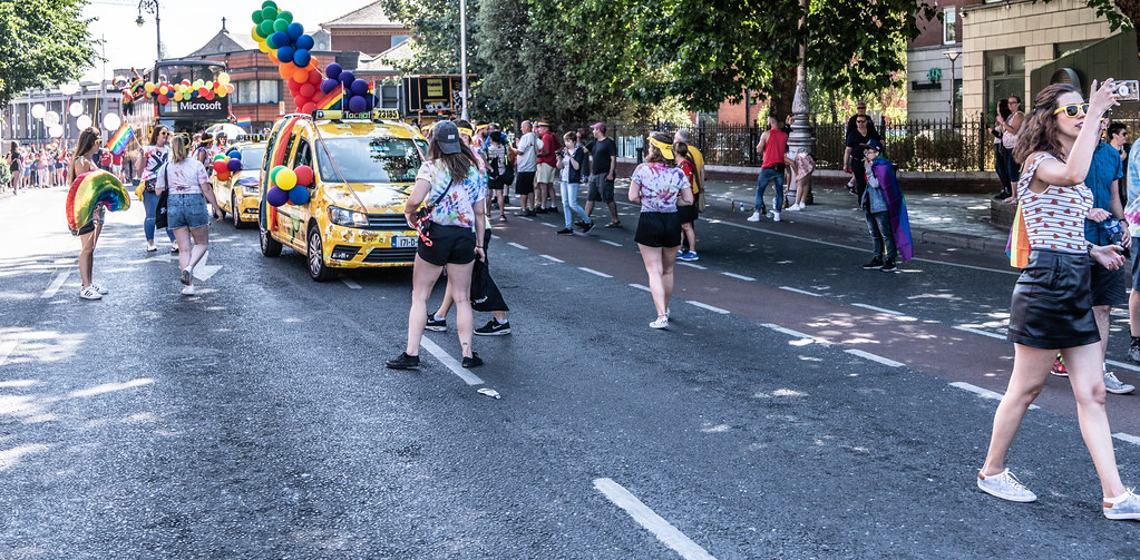 ABOUT SIXTY THOUSAND TOOK PART IN THE DUBLIN LGBTI+ PARADE TODAY[ SATURDAY 30 JUNE 2018] X-100112