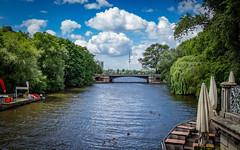 Mundsburger Brücke (max.stolbinsky) Tags: river alster hamburg