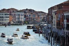 Water traffic (cokbilmis-foto) Tags: canal grande venezia venice boats ships vessels nikon d3300 nikkor 18105mm
