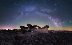 Bisti Arch (bryanchong.photo) Tags: bisti badlands arch rocks milky way panorama night sky astrophotography astro stars nature outdoor new mexico landscape laowa 15mm f2 sony a7rii