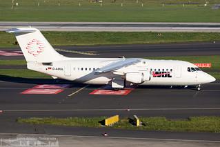 D-AMGL WDL Aviation British Aerospace 146-200 (DUS - Düsseldorf - EDDL)
