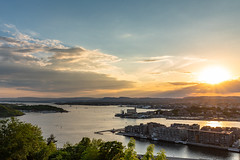 Oslo (Thom O.) Tags: ifttt 500px sunset jetty pier dusk river reflection twilight marina oslo norway sea water sky clouds blue sun ocean travel summer light