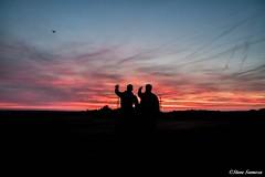Drone spotting. (Steve Samosa Photography) Tags: summertime sunset aerial droneshot drones billinge england unitedkingdom gb