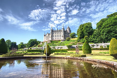 Dunrobin Castle, Scotland. Near Inverness (EricMakPhotography) Tags: scotland castle architectural garden inverness wonder