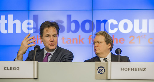 Nick Clegg, Paul Hofheinz