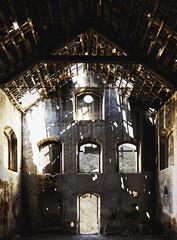 Sugar Factory (Rose Tinted Digital) Tags: urbex dark factory exploring urban decay rot vintage rust beams unloved dreamshoot windows holes distressed building architecture derelict