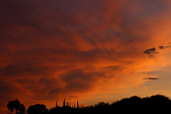 Sunset 7 6 18 #09 (Az Skies Photography) Tags: sun set sunset dusk twilight nightfall cloud clouds sky skyline skyscape rio rico arizona az riorico rioricoaz arizonasky arizonaskyline arizonaskyscape arizonasunset orange salmon gold golden yellow black july 6 2018 july62018 7618 762018 canon eos 80d eos80d canon80d canoneos80d