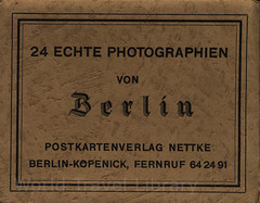 24 Echte Photographien von Berlin; 1910_1, Germany (World Travel Library - collectorism) Tags: berlin 1910 capital city stadt ville germany deutschland németország frontcover black white retro vintage history old antique antik world travel library center worldtravellib collection holidays tourism trip vacation papers prospekt photos photo photography picture image collectible collectors sammlung recueil collezione assortimento colección ads online gallery galeria touristik touristische documents dokument