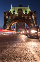 Night rush on Tower Bridge (edem.irons) Tags: towerbridge london night longexposure lighttrails nightlife uk