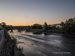 Carmarthen Sunrise 2018 07 03 #1 (Gareth Lovering Photography 5,000,061) Tags: carmarthen carmarthenshire summer sunset sunrise river riverside olympus penf 17mm f18 garethloveringphotography