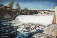 Lower Spokane Falls (buffdawgus) Tags: westernstatesroadtrip washington spokaneriver river canonef24105mmf4lisusm landscape spokane topazsw lightroom6 riverfrontpark spokanefalls canon5dmarkiii spokanecounty