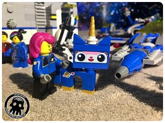 53-02 Unikitty joins the crew (captainmutant) Tags: afol classic space lego ideas legospace legography photography minifig minifigs minifigure minifigures moc sciencefiction science fiction scifi exploration brickography toy custom