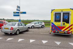 25062018-9720 (Sander Smit / Smit Fotografie) Tags: ongeluk n360 n33 verkeersongeluk botsing appingedam