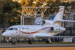 Air Niugini 9001 (Tom Marschall) Tags: private jet falcon f9x 900 f900 p2anw p2 pixi air niugini 9001 suva fiji syd sydney yssy bizjet jetliner airliner sunset aviation avgeek travel explore australia
