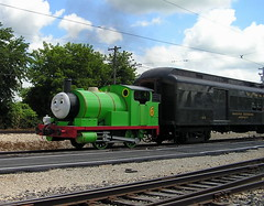 Day Out With Thomas (Vinny Gragg) Tags: dayoutwiththomas cloud clouds train trains engine locomotive loco choochoo railroad railway steam steamtrain irm illinoisrailwaymuseum museum museums union illinois unionillinois percy thomasthetankenginefriends thomasthetankengine tree tressr trees