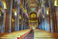 Inside the cathedral (LUMEN SCRIPT) Tags: column hdr dof architecture interiorphotography monaco cathedral church