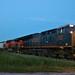 CSX 3431 Leads WB L571 Manifest Iowa Falls, IA 6-23-18