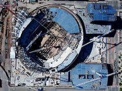 ChaseCenter - future home, Golden State Warriors (samayoukodomo) Tags: dronepointofview drone dronephotography aerialview aerialphotography takingthedroneouttogethigh quadcopter djimavicpro mavicpro birdseyeview droneview aerial
