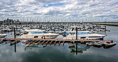 Dun Laoghaire marina [HDR] (@JohnA390) Tags: dunlaoghaire dunleary marina ilca68 sony18250mm hdr dxo