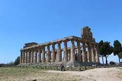 IMG_4915 Paestum (drayy) Tags: rome roman greek ancient magnagraecia paestum italy europe campania temple greektemple
