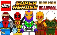 Amazing Custom Lego Superheroes Minifigures !!! (afro_man_news) Tags: lego minifigures custom moc fake must wacth marvel dc iron man spiderman deadpool daredevil x men sheriff toy story characters buzz lightyear black panther captain america superheroes funny cyborg spider vs mysterio