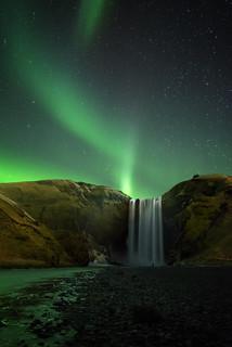 Emerald Skogafoss