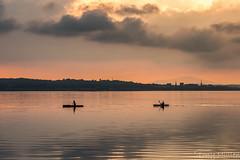 Calm Waters (Tony Mullen Photography) Tags: kayak canoe paddle wexfordsunset wexfordseascape rosslare tonymullenphotography rosslaresunset sunset