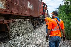 MRHA Work Train at Ottawa, KS (Mo-Pump) Tags: train railroad railfan railroader railway railroading locomotive