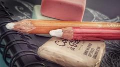 Cuaderno de dibujo. (Marina Is) Tags: erasers gomasdeborrar macromondays hmm
