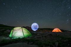 DSC_5429 (Jesus DTT) Tags: gredos lightpainting vivac refugiodelrey nocturna tiendadecampaña trekking