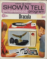 Dracula Show 'N Tell ( G.E. 1965 ) (Donald Deveau) Tags: generalelectric monster dracula record showntell