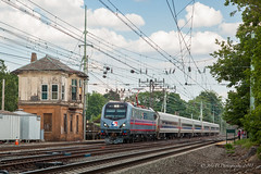 SEPTA Siemens ACS-64 #901 @ Bryn Mawr, PA (Darryl Rule's Photography) Tags: 2018 acs64 aem7 amtrak bomberset brynmawr buckscounty catenary citiessprinter clouds cloudy delawarecounty eastbound electric inbound july keystonecorridor keystoneservice mainline neshaminyfalls outbound pa prr passenger passengertrain pennsy pennsylvania pennsylvaniarailroad railroad railroads readinglines readingrailroad septa spax summer sun sunny tower train trains villanova westbound