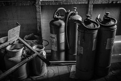The Fire Extinguishers (stujfoster) Tags: farm shed urbex gritty urban uk england