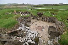 House Interior (PLawston) Tags: uk britain scotland orkney mainland skara brae neolithic village interior house