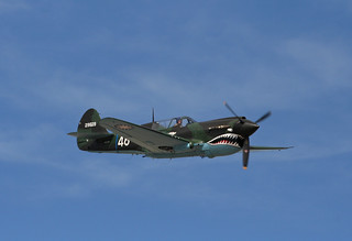 N1226N Curtiss P-40 Warhawk